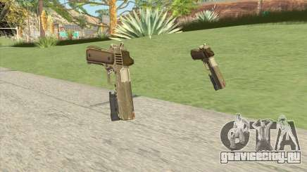 Heavy Pistol GTA V (Army) Flashlight V1 для GTA San Andreas