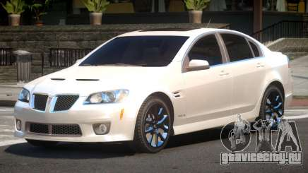 Pontiac G8 RS для GTA 4
