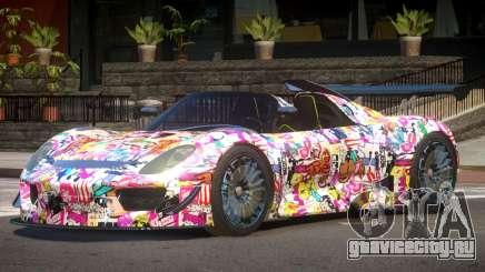 Porsche 918 GT-Sport PJ3 для GTA 4