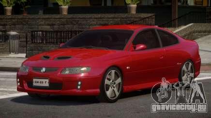 Holden Monaro RS для GTA 4
