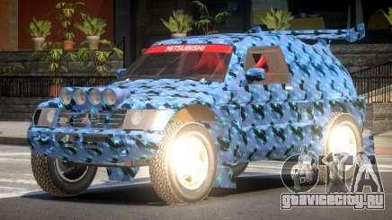 Mitsubishi Pajero Rally Sport PJ3 для GTA 4
