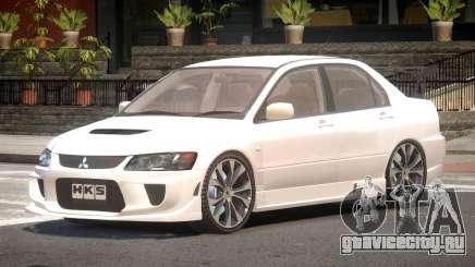 Mitsubishi Lancer Evolution VIII Tuned для GTA 4