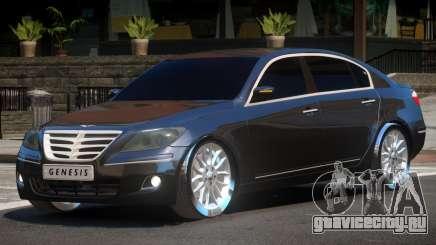 Hyundai Genesis Sedan V1.0 для GTA 4