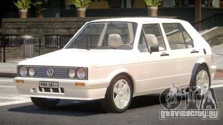 Volkswagen Golf Old для GTA 4