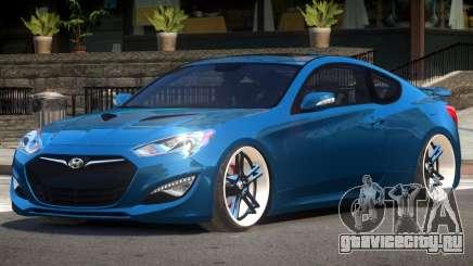 Hyundai Genesis Edit для GTA 4