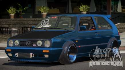 Volkswagen Golf Racing Tuning для GTA 4
