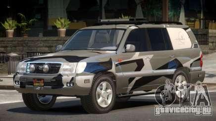 Toyota Land Cruiser Rally Cross PJ4 для GTA 4