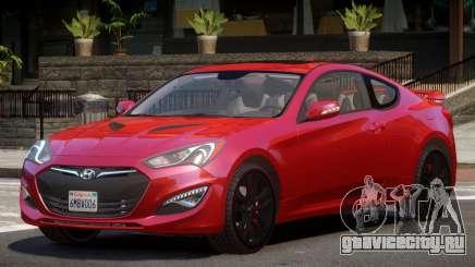 Hyundai Genesis RS для GTA 4