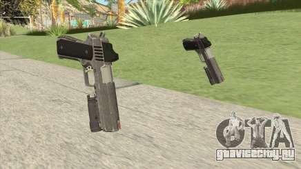 Heavy Pistol GTA V (Platinum) Flashlight V1 для GTA San Andreas