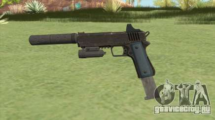 Heavy Pistol GTA V (LSPD) Full Attachments для GTA San Andreas