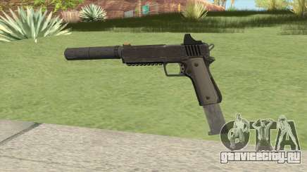 Heavy Pistol GTA V (NG Black) Suppressor V2 для GTA San Andreas