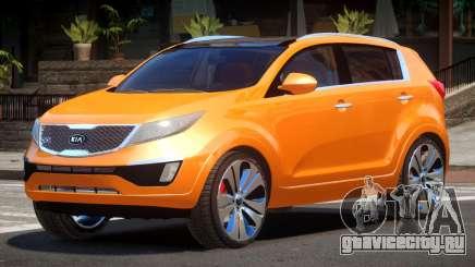 Kia Sportage V1.0 для GTA 4