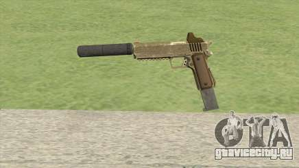 Heavy Pistol GTA V (Army) Suppressor V2 для GTA San Andreas