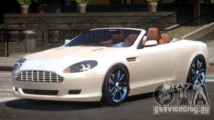 Aston Martin DB9 Spyder V1.0 для GTA 4