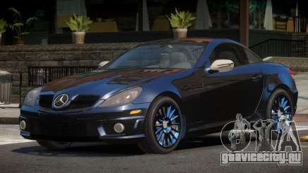 Mercedes Benz SLK 55 V1.1 для GTA 4