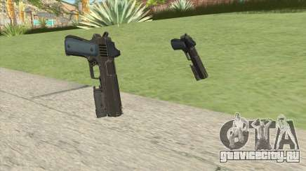 Heavy Pistol GTA V (LSPD) Flashlight V1 для GTA San Andreas