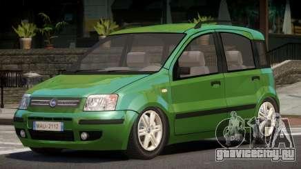 Fiat Panda V1.0 для GTA 4