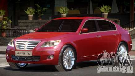 Hyundai Genesis Sedan V1.1 для GTA 4