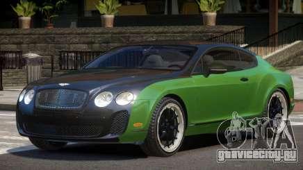 Bentley Continental GT ST для GTA 4