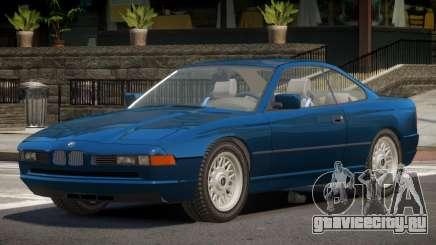 1992 BMW 850i E31 для GTA 4