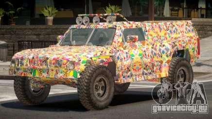Hummer H3 Edit PJ5 для GTA 4