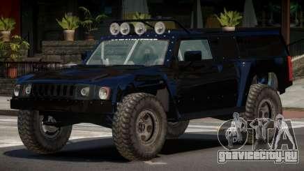 Hummer H3 Edit для GTA 4