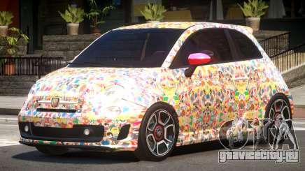 Fiat 500 Abart PJ5 для GTA 4