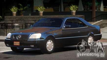 Mercedes Benz 600SEC V1.0 для GTA 4