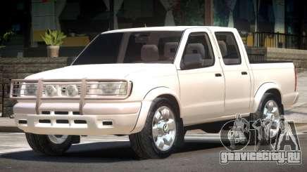 Nissan Navara V1.0 для GTA 4