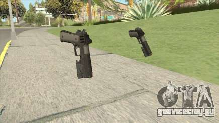 Heavy Pistol GTA V (NG Black) Flashlight V1 для GTA San Andreas