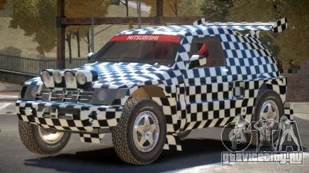 Mitsubishi Pajero Rally Sport PJ2 для GTA 4