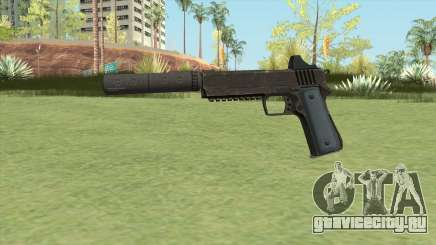 Heavy Pistol GTA V (LSPD) Suppressor V1 для GTA San Andreas