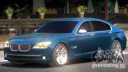 BMW 750Li Edit для GTA 4
