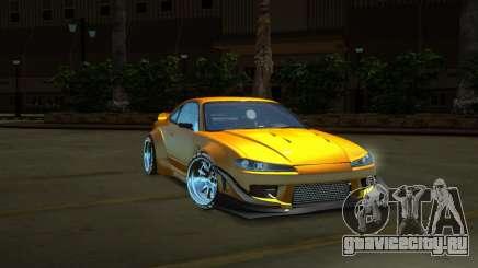 Nissan Silvia S15 Full Tunable by zveR для GTA San Andreas
