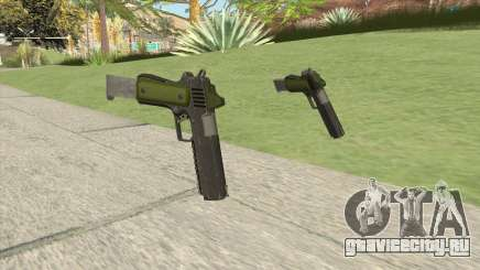 Heavy Pistol GTA V (Green) Base V2 для GTA San Andreas