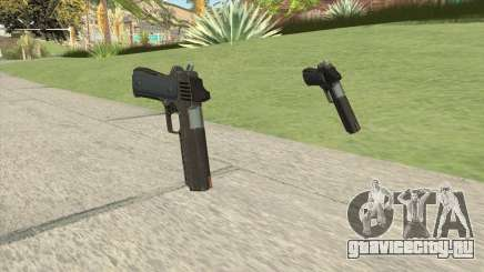 Heavy Pistol GTA V (OG Black) Base V1 для GTA San Andreas