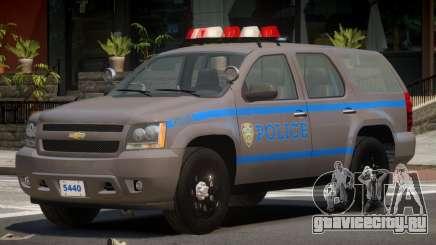 Chevrolet Tahoe Police V1.2 для GTA 4