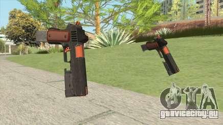 Heavy Pistol GTA V (Orange) Flashlight V2 для GTA San Andreas