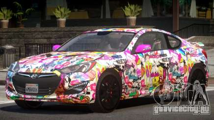 Hyundai Genesis RS PJ3 для GTA 4