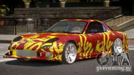 Mazda RX-7 GT-Sport PJ2 для GTA 4