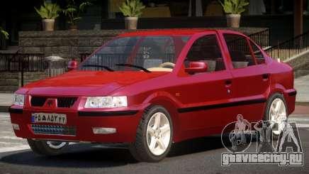 Iran Khodro Samand SX для GTA 4