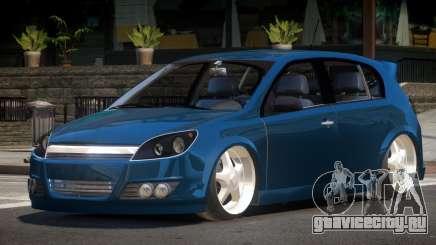 Opel Astra RS V1.0 для GTA 4
