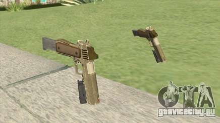 Heavy Pistol GTA V (Army) Flashlight V2 для GTA San Andreas
