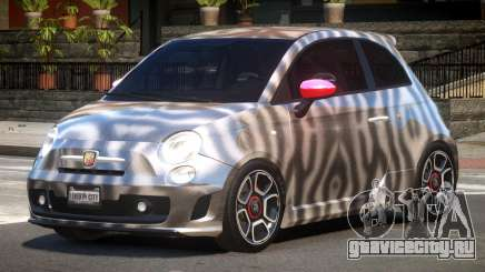 Fiat 500 Abart PJ4 для GTA 4