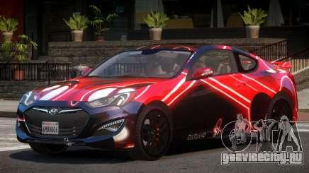 Hyundai Genesis RS PJ4 для GTA 4