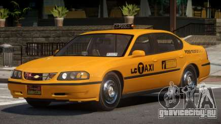 Chevrolet Impala RT Taxi V1.0 для GTA 4