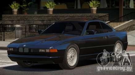 1993 BMW 850i TR для GTA 4