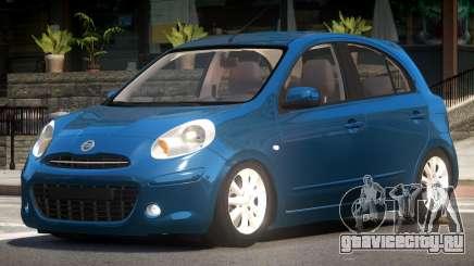 Nissan Micra V1.0 для GTA 4