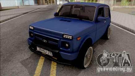 Lada Niva Sport Tuning Azerbaijan для GTA San Andreas