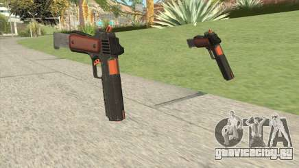 Heavy Pistol GTA V (Orange) Base V2 для GTA San Andreas
